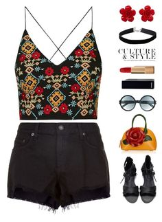 """~Summer Dream~"" by amethyst0818 ❤ liked on Polyvore featuring rag & bone, Topshop, Tom Ford, Chanel and Miss Selfridge"