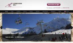 Création d'un site internet pour l'hôtel #laGrandeCascade. L'hôtel la Grande Cascade a fait confiance à Edenweb pour la réalisation de son site web www.hotellagrandecascade.fr