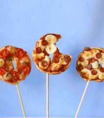 pizza on a stick- davetler için