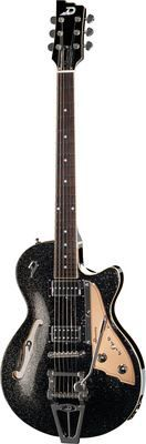 Duesenberg - STarplayer TV Black Sparkle met case - Van De Moer Instruments