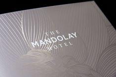 hotel layout The Mandolay Hotel Rebrand by Ball Design Consultancy , via Behance Luxury Graphic Design, Vintage Graphic Design, Hotel Logo, Hotel Branding, Luxury Branding, Christmas Brochure, Property Branding, Luxury Brochure, Leaflet Design