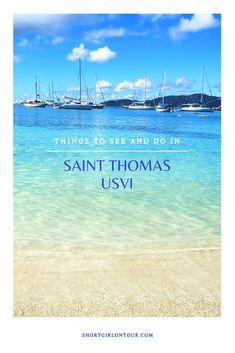 Caribbean Vacations, Caribbean Cruise, Us Virgin Islands Vacation, St Thomas Virgin Islands, St Thomas Usvi, Water Island, White Sand Beach, Vacation Places, Dear God