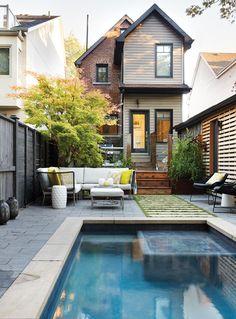 Photos : rénovation d'un jardin urbain | Maison et Demeure
