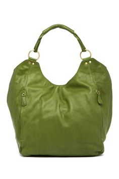 Green Oversized Tote