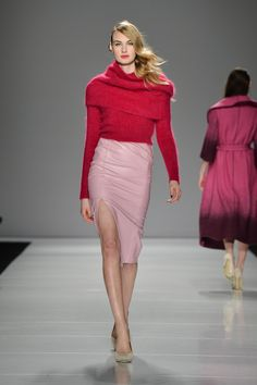 Line Knitwear Fall 2014 - Look 2 Download the app today: https://purelyapp.com/