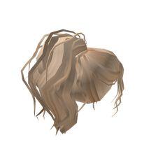 Blonde Natural Trim Pony - Roblox Blonde Ponytail, Blonde Hair Girl, Brown Blonde Hair, Brown Hair Roblox, Black Hair Roblox, Ball Hairstyles, Popular Hairstyles, Create Avatar Free, Free T Shirt Design