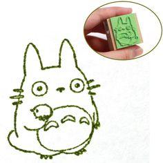 Studio Ghibli My Neighbor Totoro Rubber Stamp (Type F)