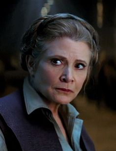 General Leia Organa from Star Wars Episode 7 The Force…
