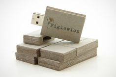 Custom Eco Square USB Drives for Figlewicz Photography
