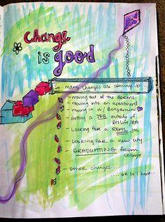 Change is good Art Journal