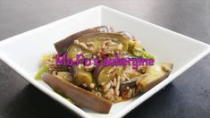 This video is about how to make Ma Po's aubergine. This is a Chinese dish that is mega-popular in Japan, so much so that it has become a part of Japanese hom. Japanese House, Japanese Food, Potato Flour, Song Of Style, Tone It Up, Chinese Style, Eggplant, Asian Recipes, Beef