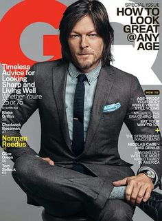 The Walking Dead TWD Daryl Dixon - Norman Reedus GQ Cover
