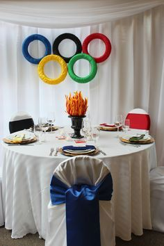 Unwy 6382 event decor pinterest olympics centerpieces and olympic photo booth google search themed dinner partiesdo it yourself projectsolympic gamesplace solutioingenieria Images