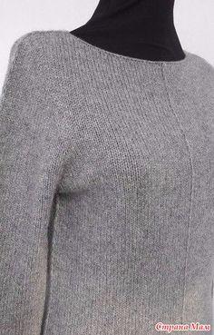 пуловер спицами Friday Again by Ankestrick. - Страна Мам Easy Knitting, Knitting Yarn, Knitting Patterns, Sewing Patterns, Pullover Sweaters, Men Sweater, Knitwear Fashion, Christmas Knitting, Knit Crochet