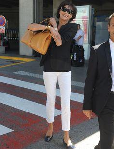Looks de aeropuerto - El estilo de... - Todo sobre la moda de las celebrities - Elle - ELLE.ES
