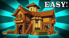 How To Build A EPIC Wooden House In Minecraft! https://cstu.io/c919ca