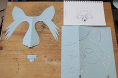Simlpe Fox Mask | Flickr - Photo Sharing!