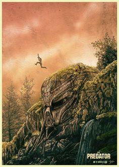 Predator Art, Alternative Movie Posters, Movie Poster Art, Horror Films, Amazing Art, Sci Fi, Car Mods, Fan Art, Teaser