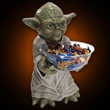 Yoda Candy Bowl Holder - halloween