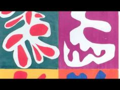 ▶ MATISSE: PAINTING WITH SCISSORS - YouTube