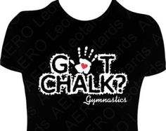 Items similar to Gymnastics GYMNAST Glitter T-shirt Gymnastic Shirt girls ladies Sparkle glitter Been there stuck that on Etsy