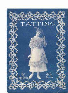 Gallery.ru / Фото #1 - Tatting Book 6 - mula...ONLINE VINTAGE BOOK AND WRITTEN PATTERNS!!