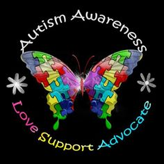 Autism Awareness Butterfly | autism_awareness_butterfly_silver_round_necklace.jpg?color=Silver ...