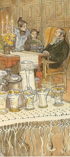 'Carl Larsson' by Carl Larson Carl Larsson, Large Painting, Painting & Drawing, Carl Spitzweg, Environment Concept Art, Arts And Crafts Movement, Museum Of Fine Arts, Watercolor Illustration, Les Oeuvres