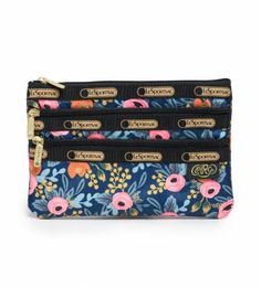 Lesportsac - 3-zip Cosmetic - By Lesportsac