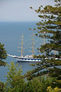 Tall Ship, Bay of Naples, Italy