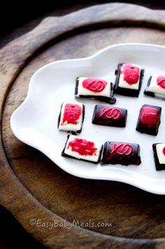 Quick Homemade Chocolates- www.easybabymeals.com