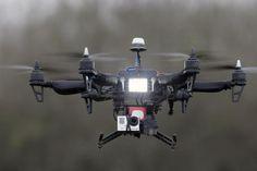 I Droni atterranno nell'università