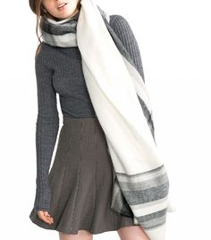 Now Trending: The Super-Size Scarf | WhoWhatWear UK