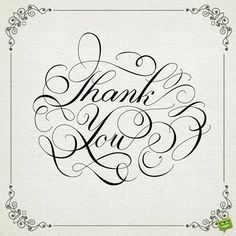 Calligraphical inscription Thank you royalty-free stock vector art Thank You Messages For Birthday, Best Birthday Wishes, Thank You Cards, Thank You Quotes Gratitude, Simple Heart Tattoos, Unique Tattoos, Black And White Wedding Theme, Flower Clipart, Hand Lettering
