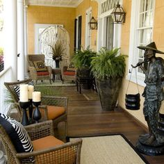 Charleston Porch Design, Pictures, Remodel, Decor and Ideas - page 6