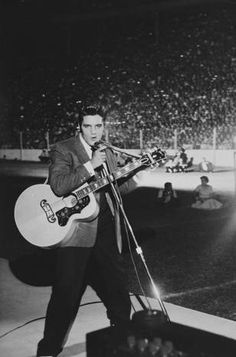 Elvis  performed in the Cotton Bowl during the State Fair of Texas in 1956. He…