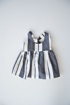 Stripe Linen Suspender Skirt by Prairieandplay on Etsy https://www.etsy.com/listing/499301666/stripe-linen-suspender-skirt