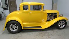 Model A Chrome Yellow 1930 Ford