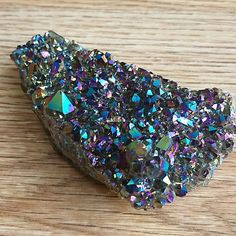 Beautiful, healing raw crystals and tumblestones that resonate with the Chakras and bring balance to life. Titanium Aura Quartz, Crystal Healing, Sage, Crystals, Salvia, Crystal, Crystals Minerals