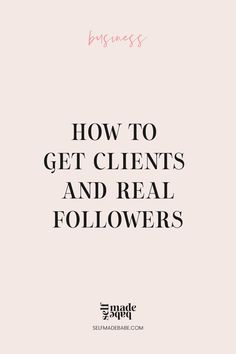 How to Attract Clients and How to Get Organic Followers Getting To Know You, How To Know, Business Tips, Online Business, Trust In Relationships, How To Get Clients, Real Followers, Content Marketing Strategy, The Way You Are