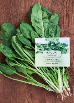 Numi's Spinach Chive Tea | Thirsty for Tea