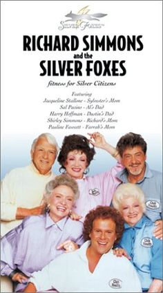Richard Simmons and the Silver Foxes - Fitness for Silver Citizens [VHS] Warner Home Video http://www.amazon.com/dp/B00004RE5L/ref=cm_sw_r_pi_dp_ULavvb16437J8