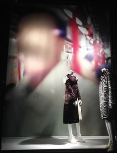 "BERGDORF GOODMAN, New York, ""Fear of Losing the Existence"", (Fearing fate,faceless victims forgo fairness for flight), featuring photography by John Clang, photo by Stylecurated, pinned by Ton van der Veer"