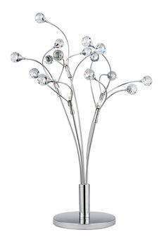 Stolní lampa SEARCHLIGHT SL 6625-5CC | Uni-Svitidla.cz Designová pokojová #lampička vhodná jako doplňkové osvětlení domácnosti či kanceláře #design, #style, #lamp, #table, #light, #lampa, #lampy, #lampičky, #stolní, #stolnílampy, #room, #bathroom, #livingroom