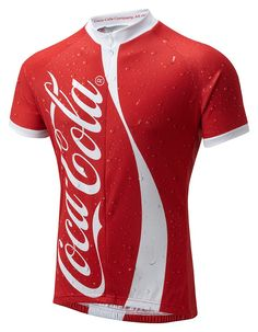 Coca Cola men's cycling jersey from Foska