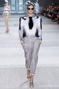 Giambattista Valli 2014-2015 Couture Sonbahar Koleksiyonu - Katlin Aas