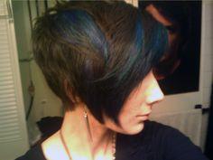 My new hair! By Rachael at Salon Blush, Phila