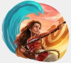Moana by YoumnaMohamed.deviantart.com on @DeviantArt