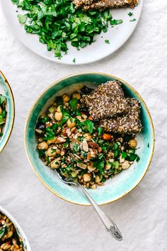 A Summer Vegan Speltberry Salad.  gluten-free grain.   #vegan #recipes