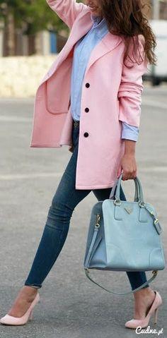 Różowy blazer